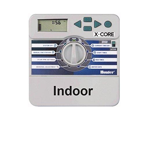 Hunter Ordinateur d'irrigation, X-Core 401i 4 stations, gris, 25 x 17 x 7 cm, na371