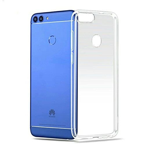 Huawei P Smart Hülle, Lanseed Crystal Clear Silikon Schutzhülle für Huawei P Smart Case TPU Bumper Cover Hülle Transparent