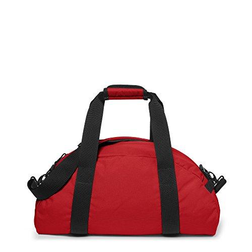 Eastpak Stand Borsone, 32 Litri, Grigio (Nero Denim) Rosso (Apple Pick Red)