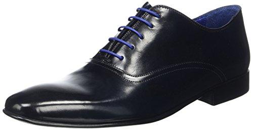 Azzaro Herren Nobodar Oxford Schnürhalbschuhe, Blau (Navy), 43 EU (Azzaro Für Männer)