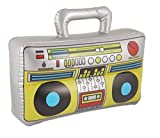 HENBRANDT BOOM BOX INFLATABLE BLOW UP SPEAKER FANCY DRESS ACCESSORY STEREO STAG PARTY PROP