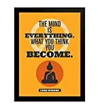Best Frames With Quotes - Interio Crafts Lord Buddha Motivational Quote Framed Poster Review