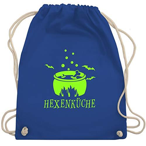 Halloween - Hexenküche - Unisize - Royalblau - WM110 - Turnbeutel & Gym Bag