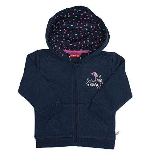 SALT AND PEPPER Baby-Mädchen Sweatshirt B Jacket Little Ones, Blau (Dutch Blue 465), 68