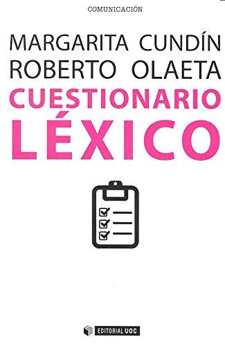 Cuestionario léxico (Manuales) por Margaríta Cundín