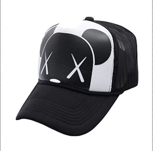 GYFKK Hut Damen Cartoon Verstellbare Strap Mesh Zurück Panel Trucker Baseball Cap pro -