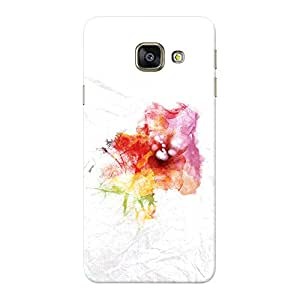 INKIF Abstract Design Designer Case Printed Mobile Back Cover for Samsung Galaxy A9 (Mutlicolor)