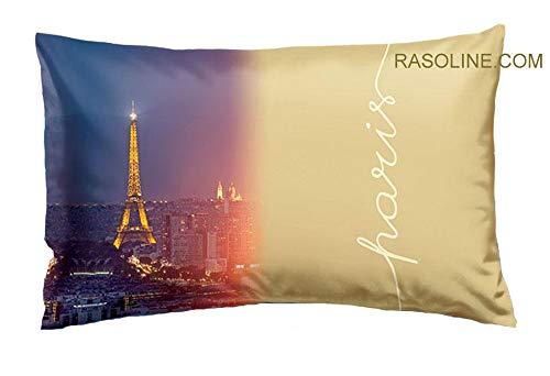 Bassetti Taie d'oreiller Bon Voyage cm.50 x 80 Imagine - Pur Coton