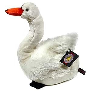 33cm White Swan Soft Toy