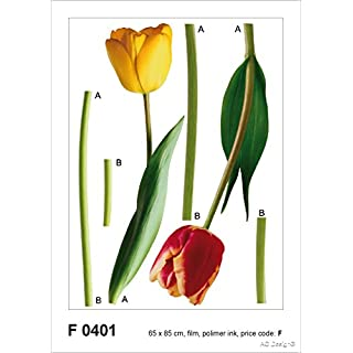 Design F AG 0401 Autkleber Tulipen Wall Stickers