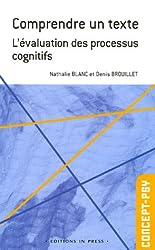 Comprendre un texte : L'évaluation des processus cognitifs