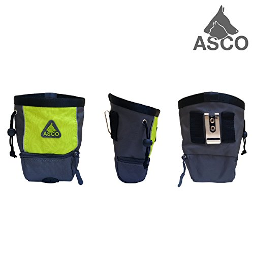 ASCO Futterbeutel für Hunde – Grün AC60TB - 2