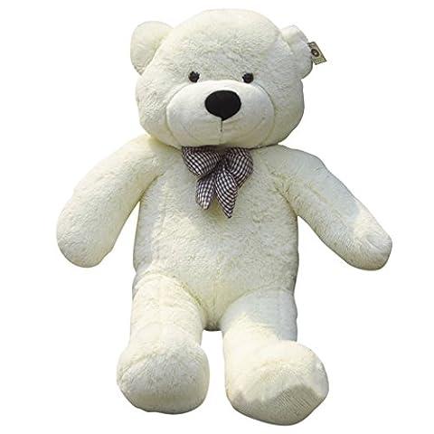Teddy Ours, Wolfbush 1.2M Grand Ours Aimable en Peluche Cadeau Pour l'Enfant l'Amie