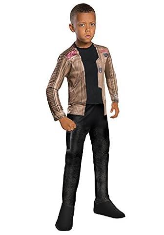 Star Wars das Erwachen der Macht Finn Kostüm für Kinder, Größe:M (Padawan Star Wars Kostüm)