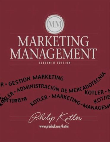 Marketing Management Kotler Ebook