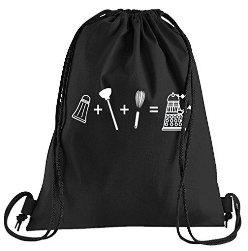T-Shirt People Evolution Dalek Sportbeutel - Bedruckter