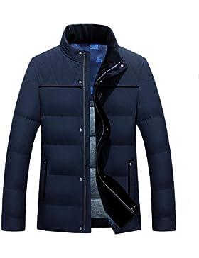 MHGAO abrigo de invierno chaqueta de negocio de los hombres al aire libre , deep blue , xxxl