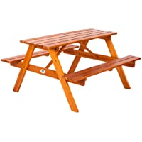 Ultranatura Lüneburg - Conjunto de mesa de picnic con bancos