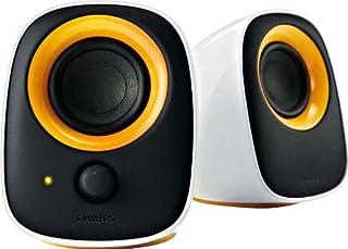 Philips SPA2210/10 - Altavoces de Ordenador de 2 W (Estéreo), Negro (B002KQ561K) | Amazon price tracker / tracking, Amazon price history charts, Amazon price watches, Amazon price drop alerts