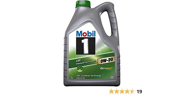 Mobil 1 Esp X2 0w20 Engine Oil 5l Auto