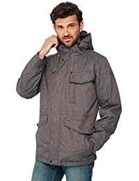 76f41ada629 Mantaray Men Big and Tall Grey Shower Resistant 3-in-1 Jacket