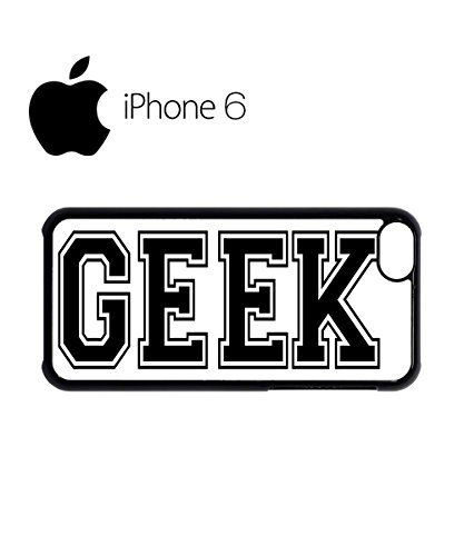 Geek Nerd Cool Swag Mobile Phone Case Back Cover Hülle Weiß Schwarz for iPhone 6 White Weiß