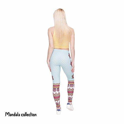 HDYS Donna gambali quotidianamente la stampa 3D nove punti pantaloni lga46000