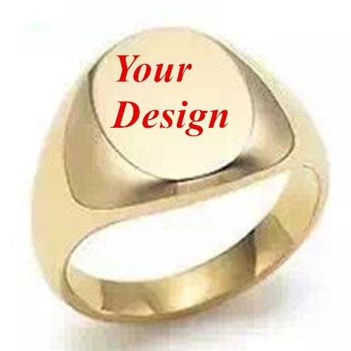 Neue Custom Made Persönlichen Gold Bild Logo Initialen Name & Datum Gravur Hochzeit Einladung Ring Wachs Siegel Stempel Ring