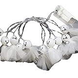 10 Leds 2M LED Mini Muñeca Luces Guirnaldas Luces De Warm White Decoración De Halloween Home Party