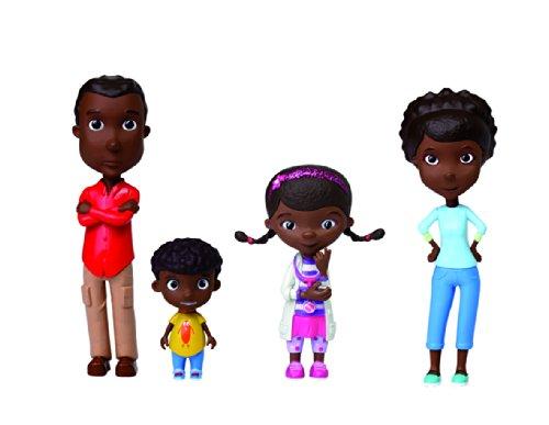 Giochi Preziosi - 5725 - Mini Figurines D'animation - Famille - 4 pièces