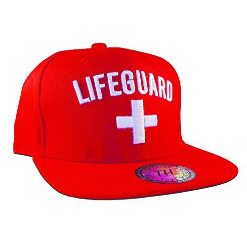 True Heads Herren Baseball Cap Rot Rot Einstellbar -