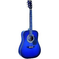 Guitarra Eléctrica Azul - Falcon FG100BL - De Cuerdas Metálicas