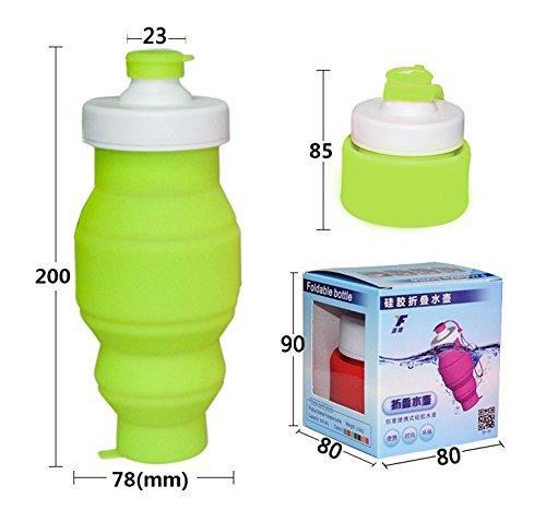 Kyansin Botella de agua de deportes 530ml Azul