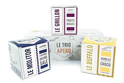 Insetti commestibili di JIMINI - 3 scatole di insetti dolci (grilli, verme di farina, verme di bufalo)
