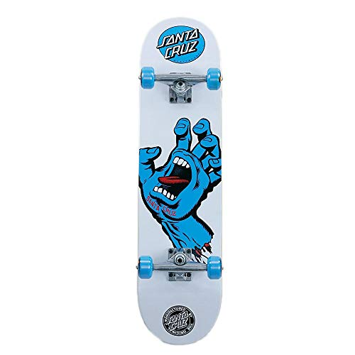 Santa Cruz Screaming Hand 7,75'Wide fabbrica Skateboard completo assemblato di configurazione