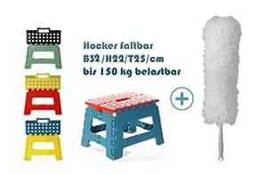 faltbarer klappbarer hocker tritt bank stufe sitz leiter faltbar klappbar klapphocker falthocker. Black Bedroom Furniture Sets. Home Design Ideas