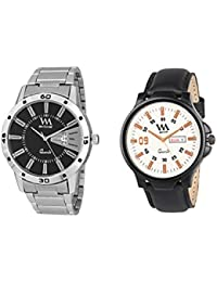 WM Stylish Watches For Boys And Men Combo Gift Set With Sunglasses DDWM-017-020aeons