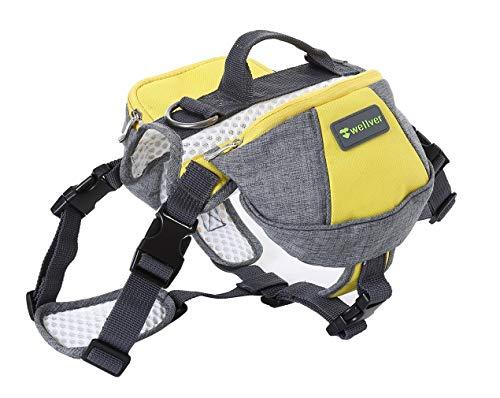 Sleipmon Hunde-Rucksack, Satteltasche, Reisetasche, für Wandern, Wandern, Camping