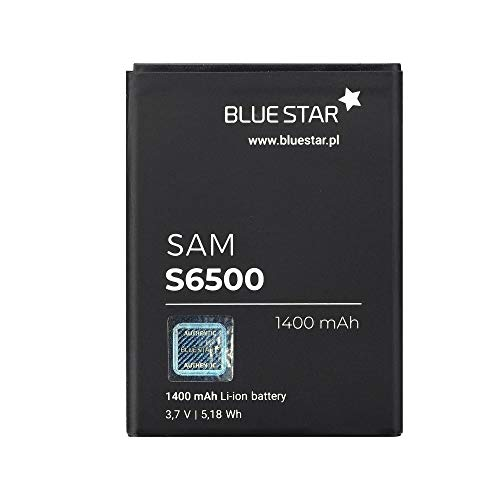 Blue Star Premium - Batteria per Samsung Galaxy Mini 2 (S6500) / Young (S6310) / Ace Plus (S7500), Li-Ion 1400 mAh