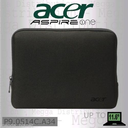 Neopren-Schutzhülle für Acer Aspire One Notebook/ Netbook/ Tablet, für Geräte bis zu einer Größe von 19,5 cm x 26,5 cm x 2,8 cm
