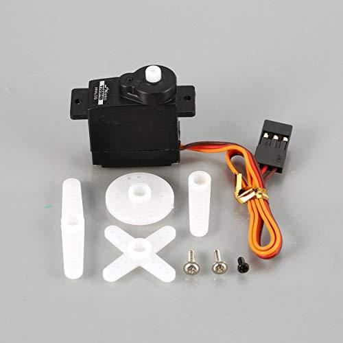 1109HB Kunststoffgetriebe 4,8 V-6 V 1,89 KG Großes Drehmoment Analog Servo Für 1/18 RC Auto Heli Boot Ersatzteile Zubehör JBP-X ()