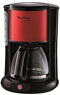 Moulinex FG360D11 Cafetière Filtre Verseuse Subito Rouge