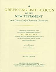 A Greek-English Lexicon of the New Testament and Other Early Christian Literatur Andrews