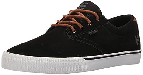 Etnies Jameson Vulc Herren Skateboardschuhe, Black (Black/Brown/Grey), 45.5