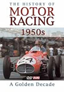 The History Of Motor Racing: The 1950's [DVD]