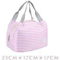 thermal insulation tote bag lunch bag, Borsa porta pranzo, impermeabile Borsetta bella borsa in tessuto poliestere stampa Pranzo al sacco Pranzo picnic