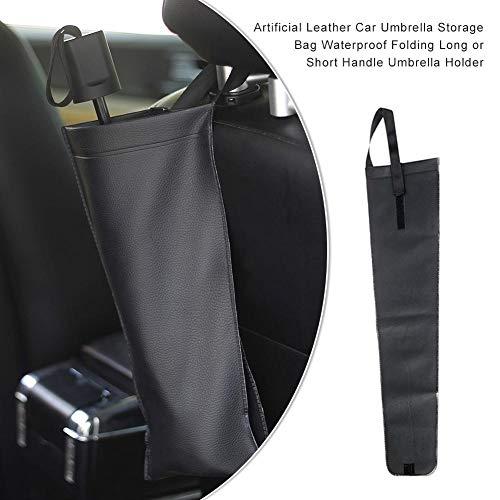 SinceY Rücksitz-Aufbewahrung, Regenschirm-Abdeckung Rücksitz Regenschirm Regenschirm-Halter Auto Wasserdicht