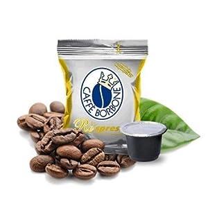 100 Cialde Capsule Caffe' Borbone Compatibili Nespresso Respresso Miscela Oro