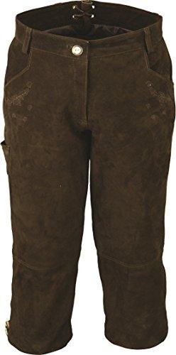 3129d90fc5c0 7 8 Lederhose Damen- Kniebundhose Leder Damen Wildbock - Trachtenlederhose  Damen Kniebundlederhose -Trachten Lederhose