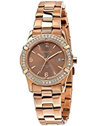 Accurist–LB1543–Women's Wristwatch, Stainless Steel Strap–Rose Gold